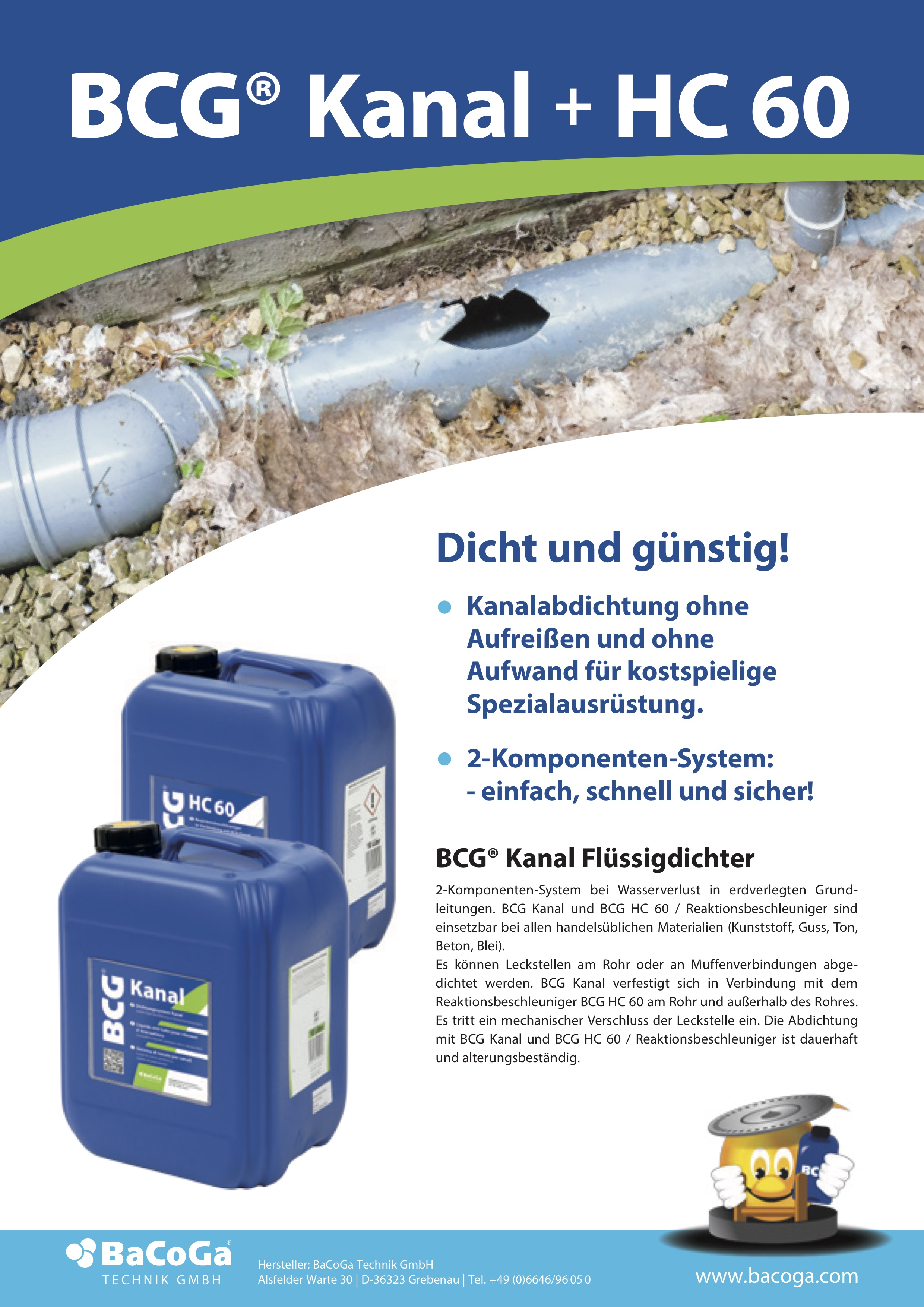 BCG Kanal + HC 60