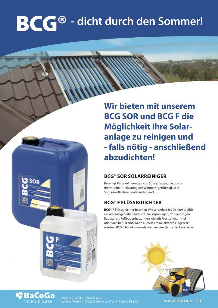 BCG SOR und BCG F